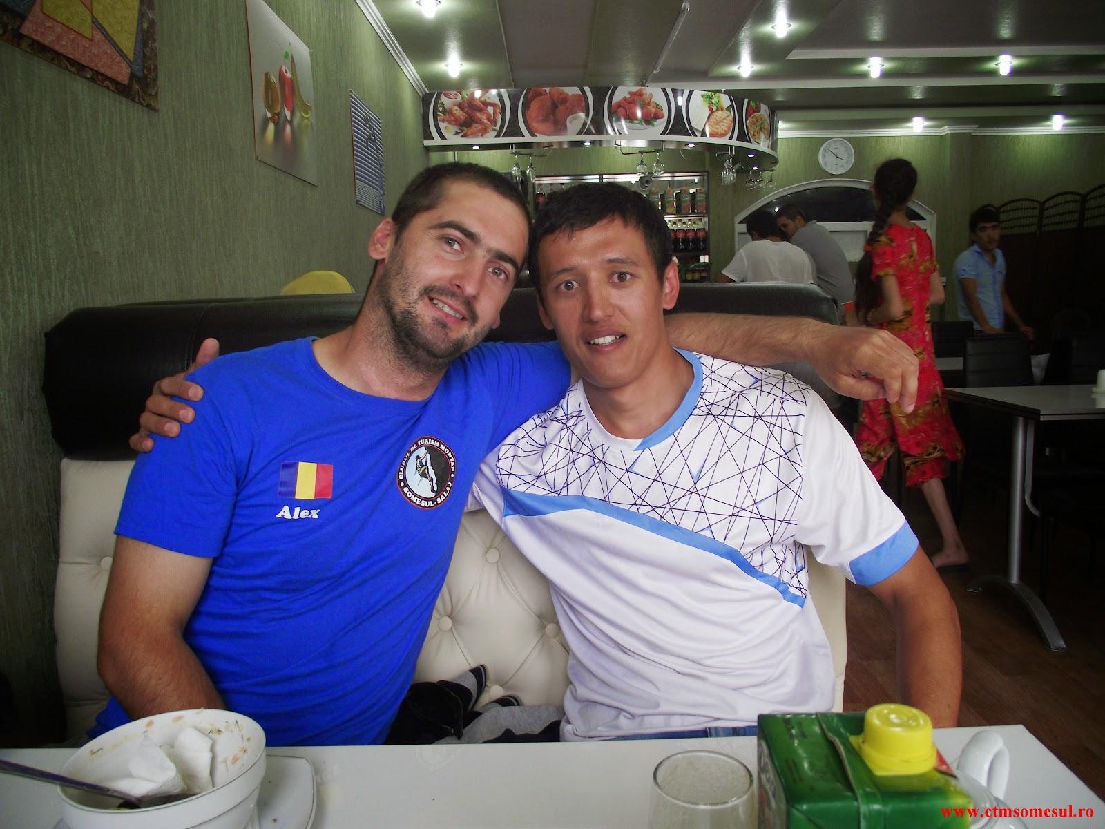 Alex şi Dr. Matmusaev Hashimijan
