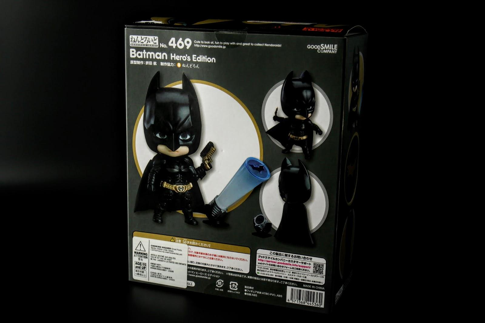 諾蘭電影版造型然後剛好遇到蝙蝠俠75周年