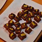 Brownies choco-mangue