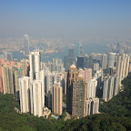 The classic Victoria Peak view over the Victoria Harbour (do you also feel that there are too many of 'Victoria' there?)