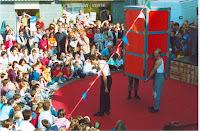 Inauguration, Animation, Les Cousins 02, Cossé 2002