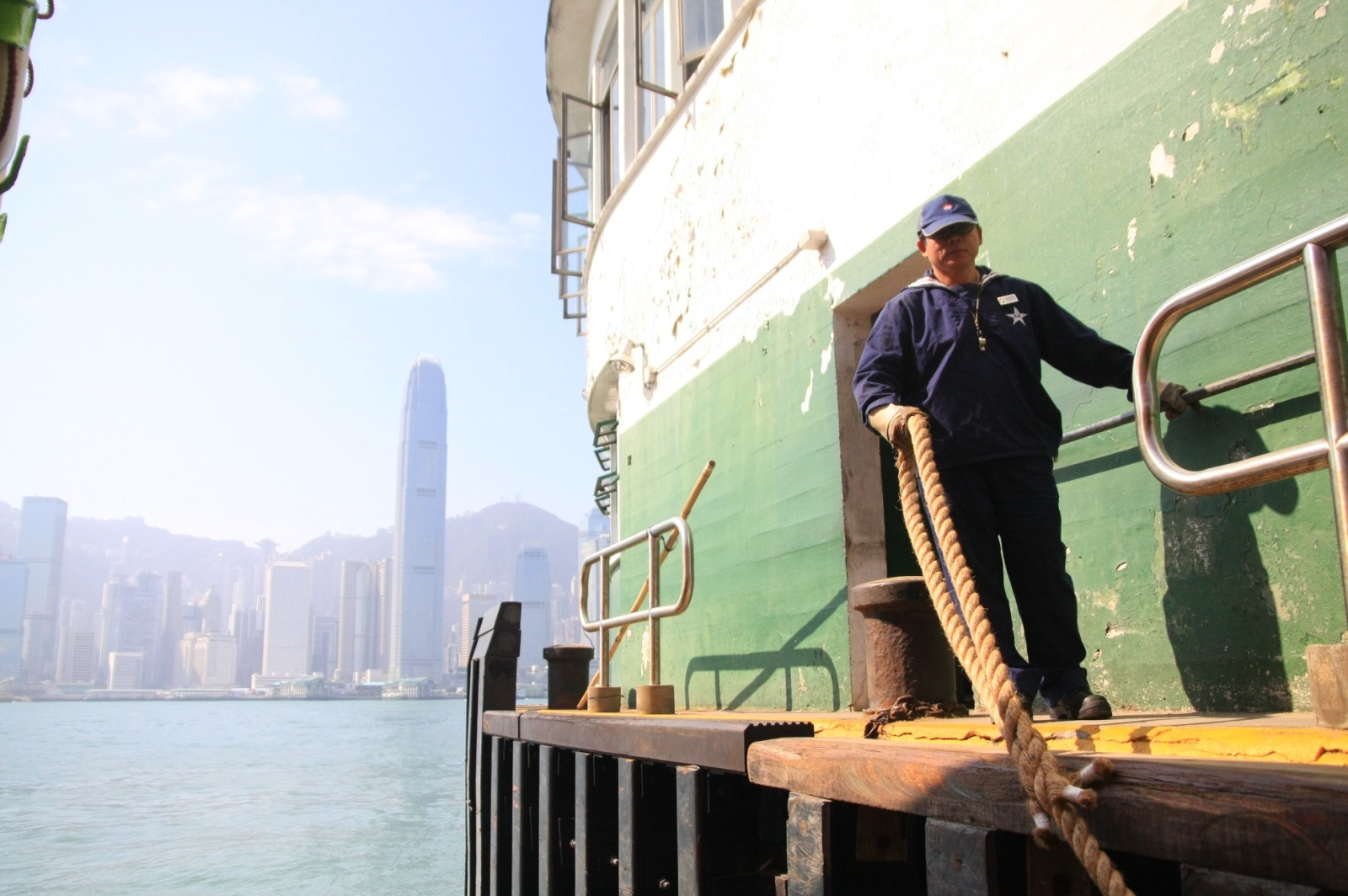 Star Ferry harbour, again - its only HK$3 to cross, the cheapest way :-)