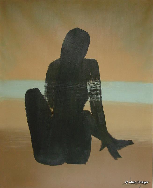 020 - Plein Soleil - 1992   100 x 81 - Acrylique sur toile