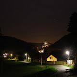 Karlštejn v noci