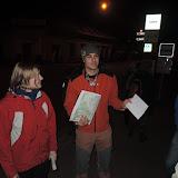 22:05 - dostali jsme startovní pokyny s mapou a vyrážíme
