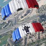 VC2 France 2 au dessus de Dubaï, vainqueur du 5th DIPC 2014, avec Charline Delay et Cindy Collot