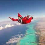 Pere Noel à Nouméa Skydive !