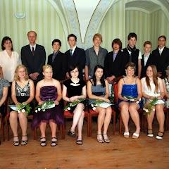 Loučení s devátou třídou 2011