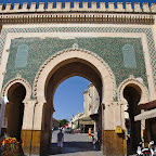 One of the gates in Fes