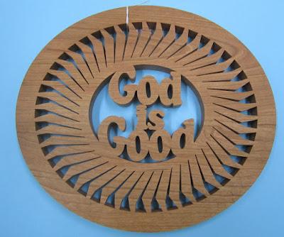 God is Good Trivet Pattern By Sylvia CHERRY 1