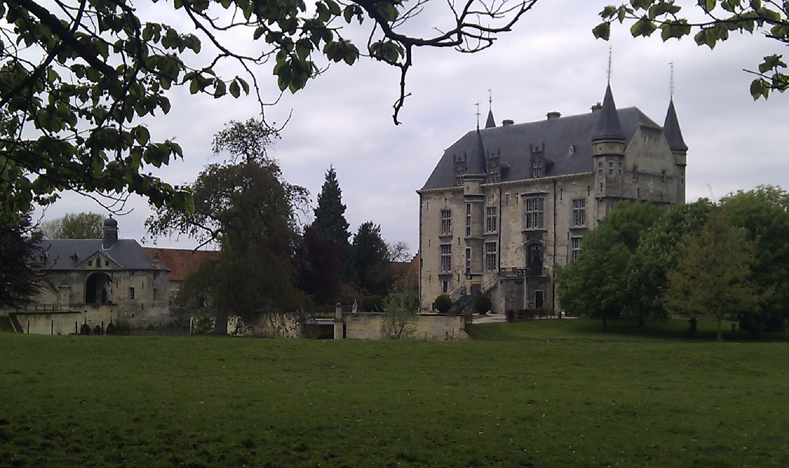 Kasteel Schaloen, Valkenburg, mei 2010:
