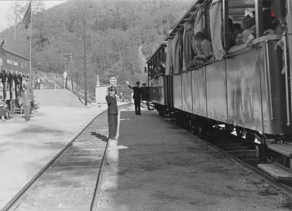Detská železnica – obnova výhybne na stanici Vpred