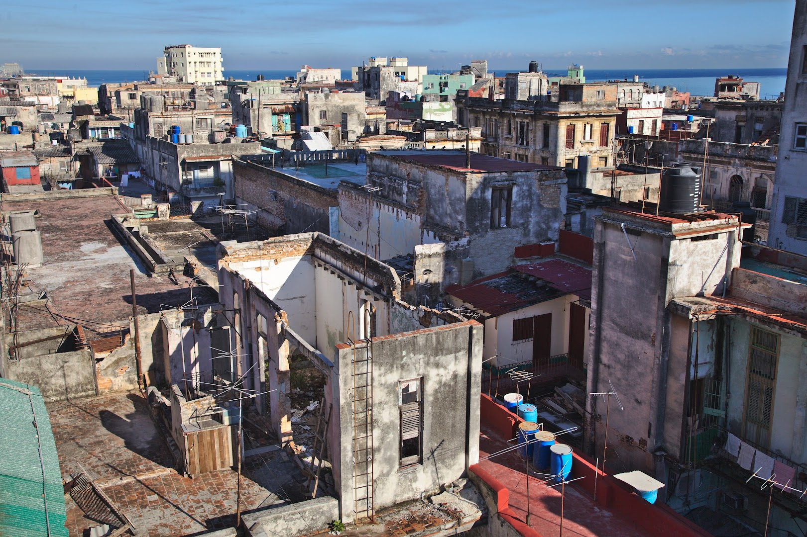 The roofs of Havana