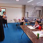 Fr Garegin's visit to the School, Apr 2014