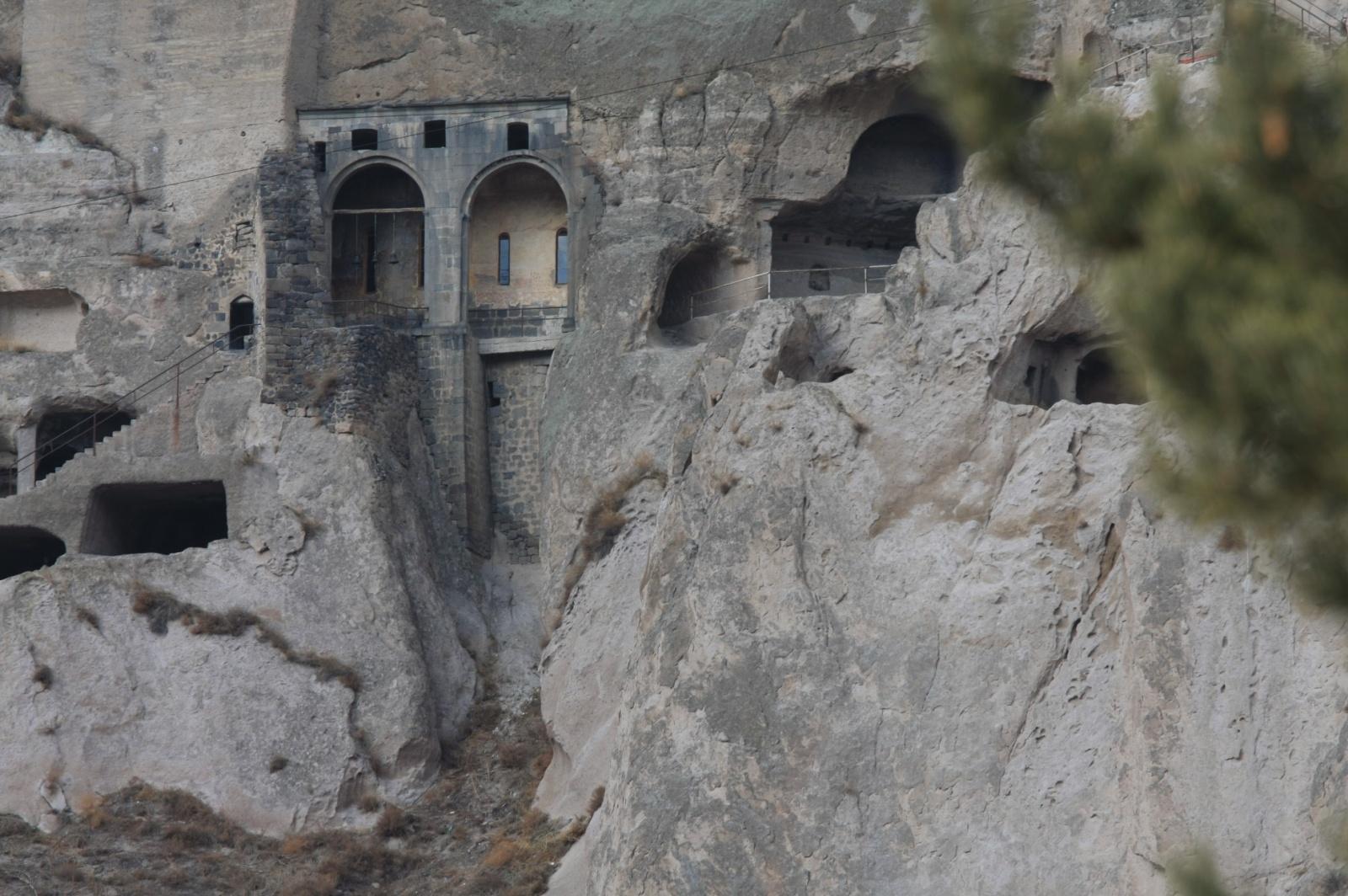 An 11th century church dug in the stone
