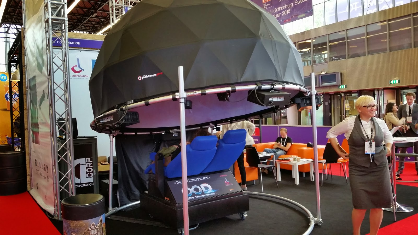 Immersive systems at Euro Attractions Show