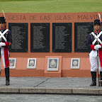 Another Las Malvinas monument. The was now is regarded to be one of the stupidest in the history