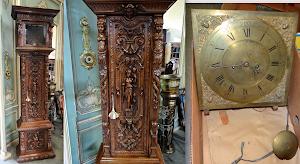 Красивые напольные часы ок.1880 г. Высота 230 см. 5000 евро.
