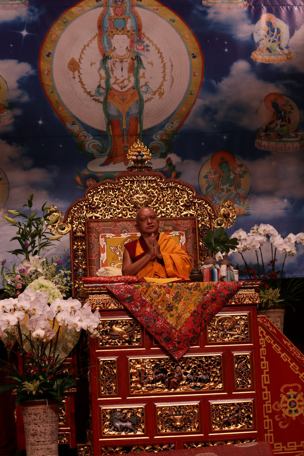 Taipai, Shakyamuni Buddha Puja
