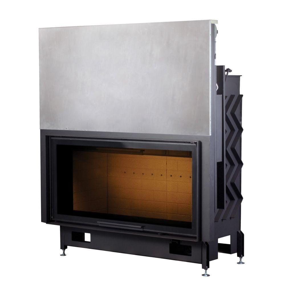 PANTECH 130 EVO LD PODIZNI dim. 1260x1349 promjer dimovodne cijevi: fi200 težina ložišta: 335 kg