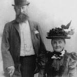 Nathaniel Humfrey (1826-1914) and Jane née Pearman (1830-1915), Upton, 1887