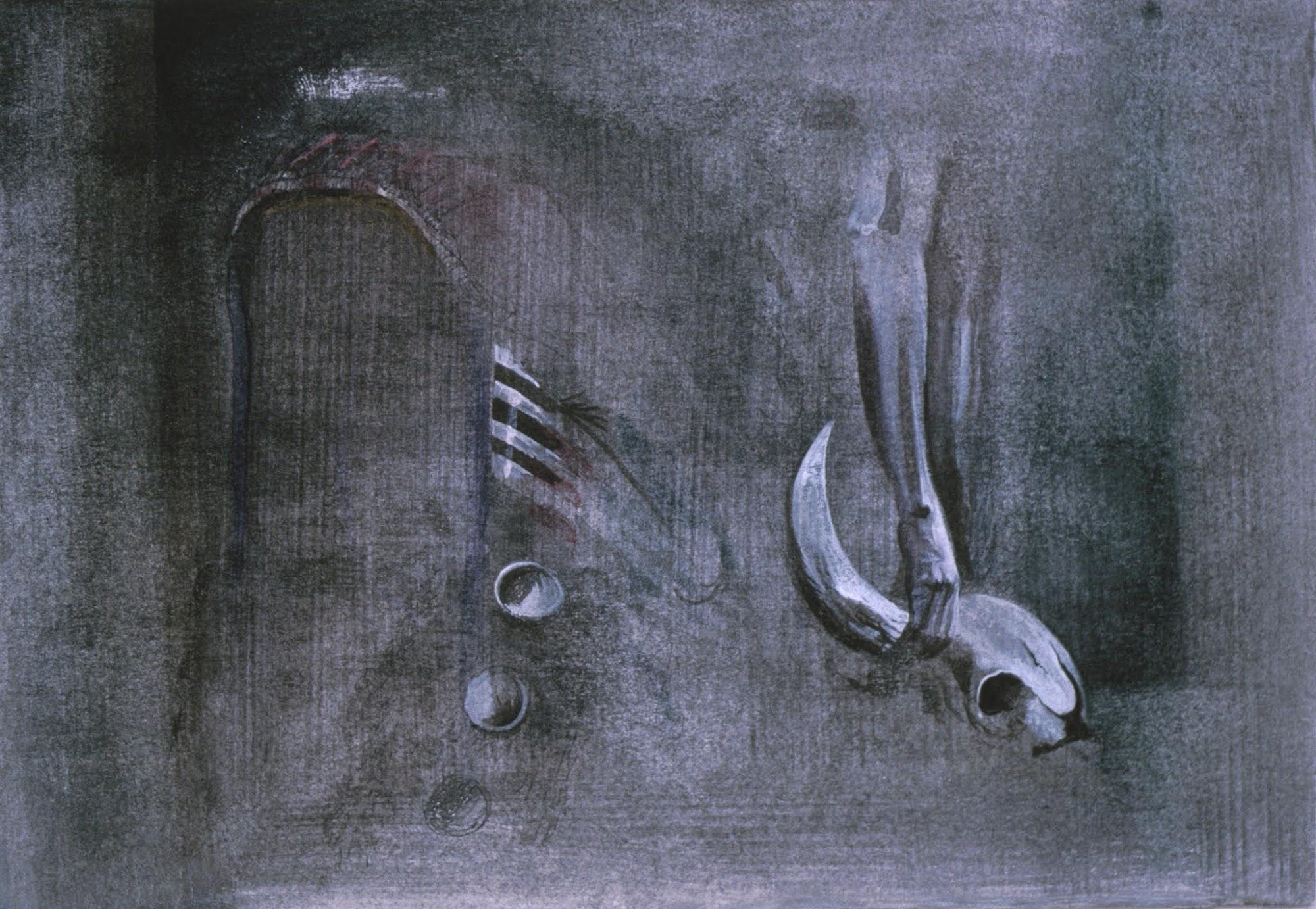Entwurf   1991   Aquarell   25 x 30 cm