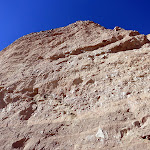 Brilliant blue desert sky is a great contrast to the incredible canyon walls