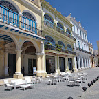 Plaza Vieja is nicely restaurated