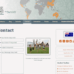 New, responsive WordPress resident office website template. australia.ifsa-butler.org