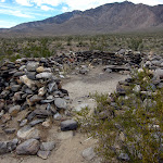 One of three rockhouses in lower Rockhouse Valley - Anza Borrego