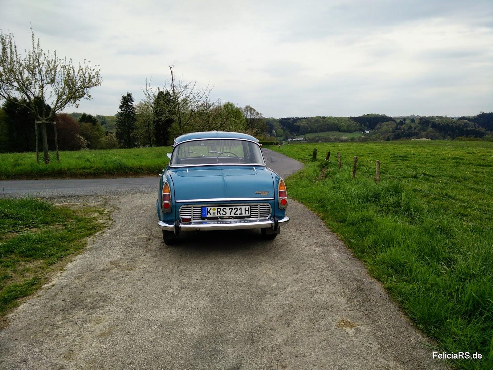 Tag 2 durchs Bergische Land diesmal mit dem Škoda 1000MB