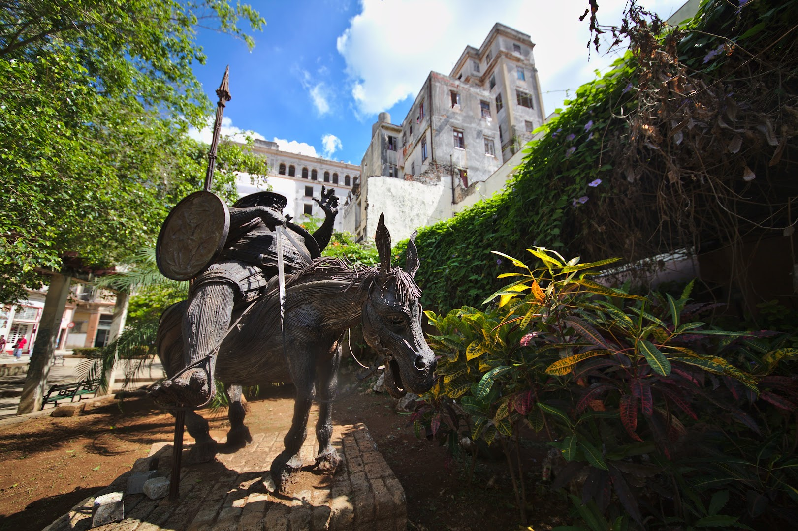 Don Quijote in Havana