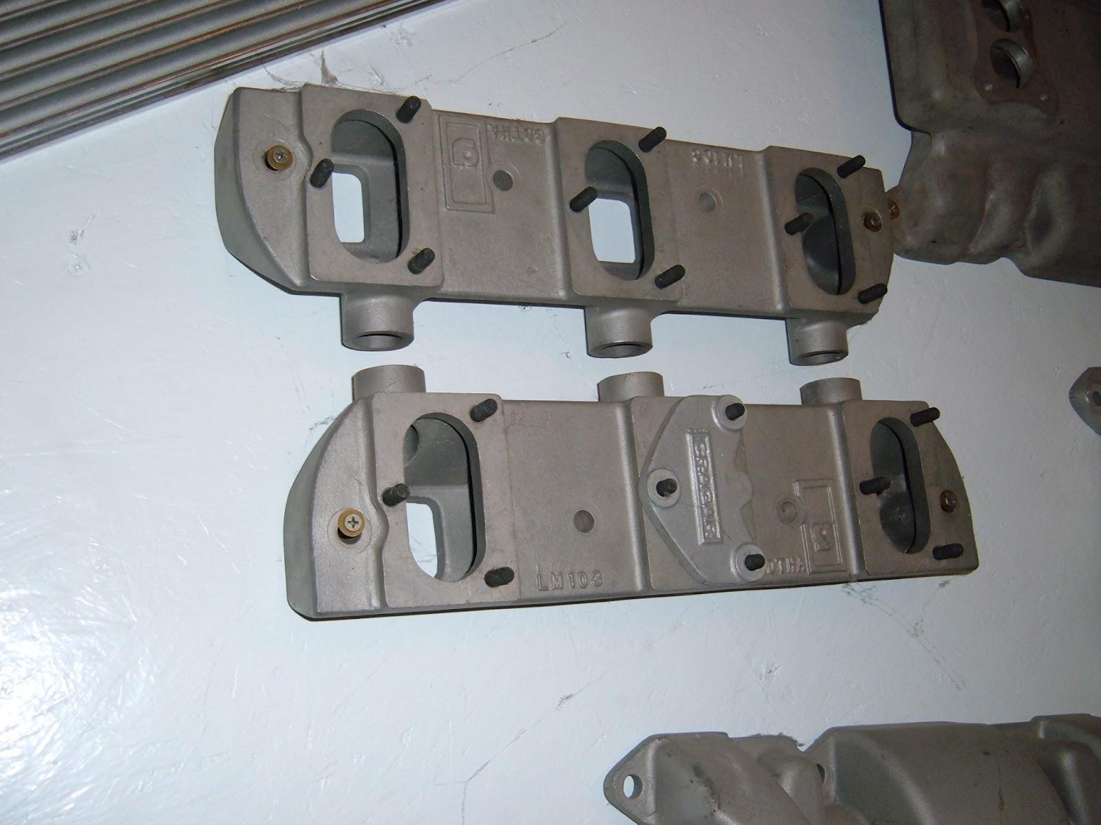 RARE RARE Gotha 6-2 intake for the 57-66 heads, nice castings.