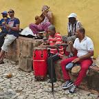 Street musicians of Trinidad