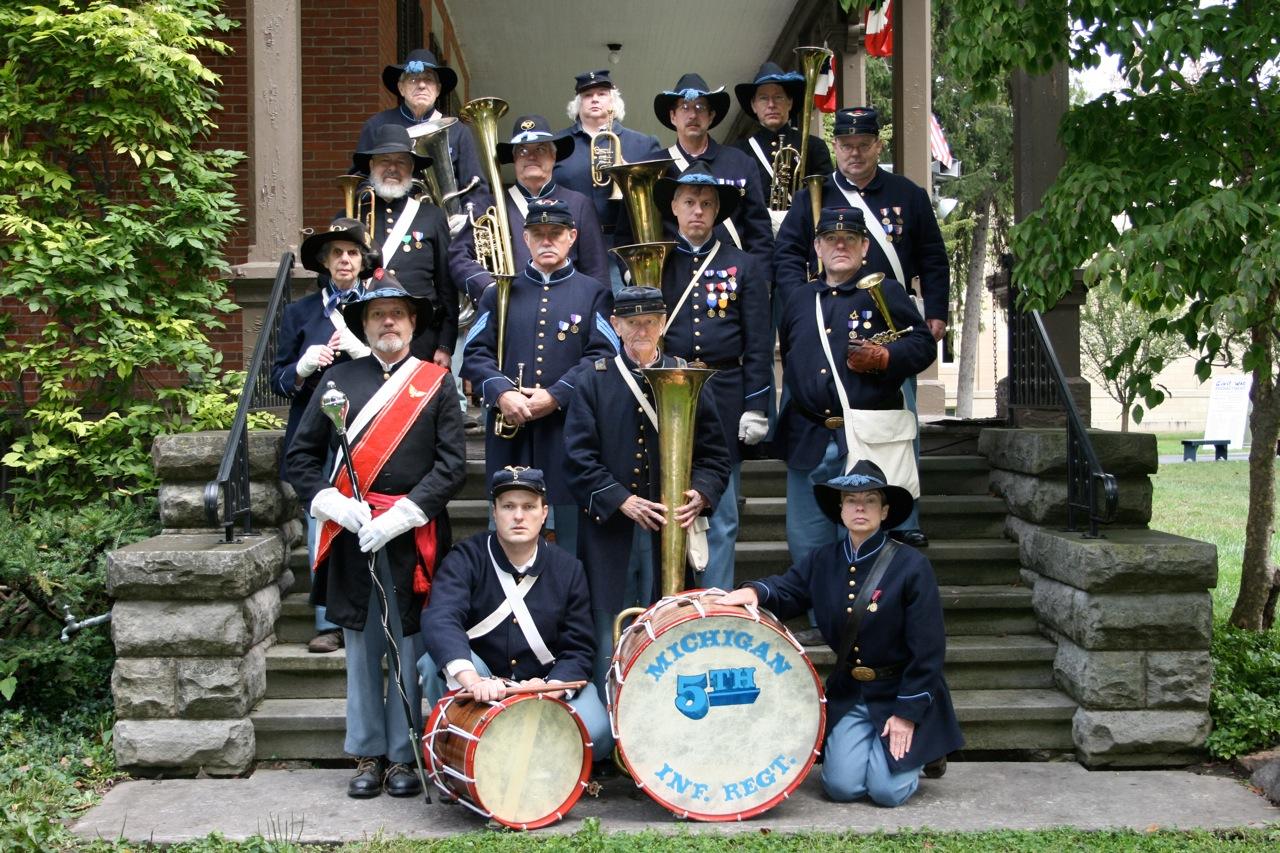 Rutherford B. Hayes Civil War Encampment - 2010