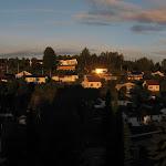 Východ slunka z okna mého pokoje