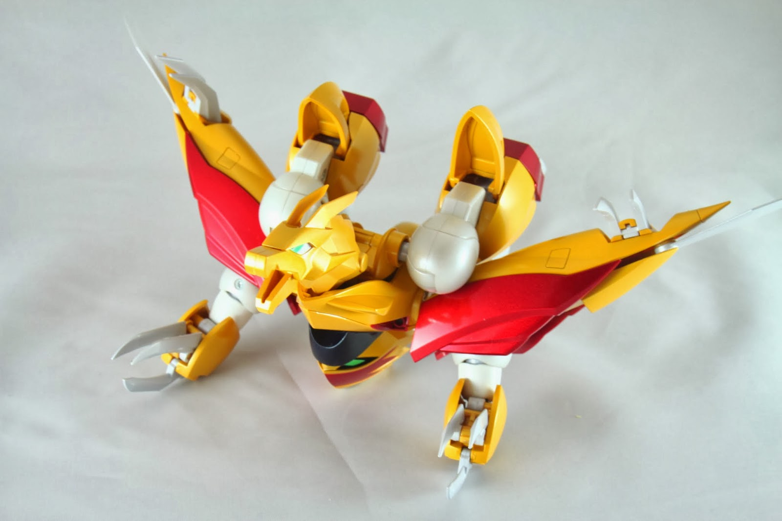 飛龍型態 不少機器人都是類似這種變法