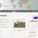 New, responsive WordPress resident office website template. australia.ifsa-butler.org