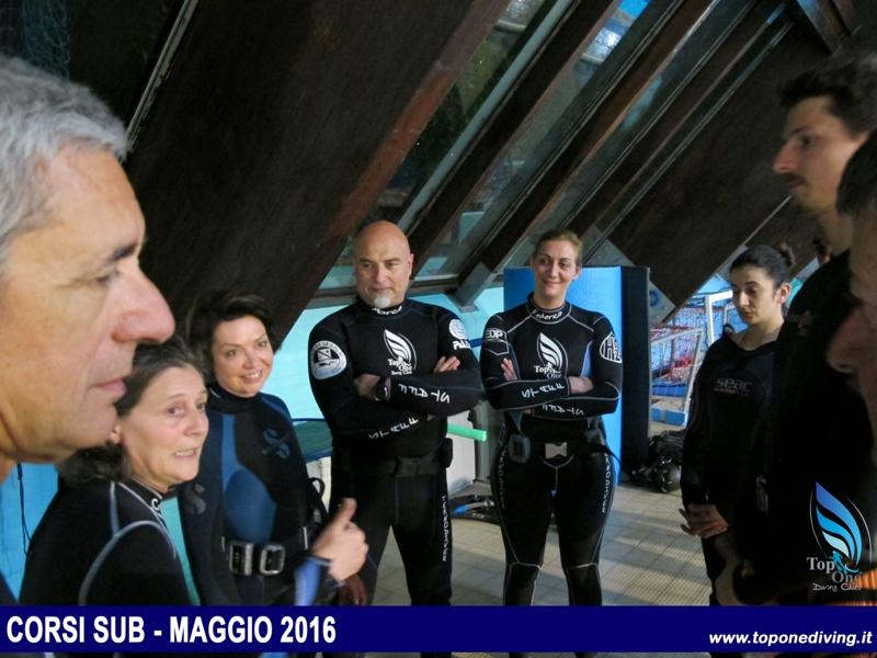 Corsi PADI Maggio 2016