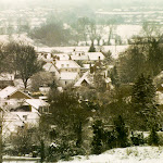 Upton in the snow, February 2007