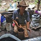 Preparing Cuban coffee - very delicious!