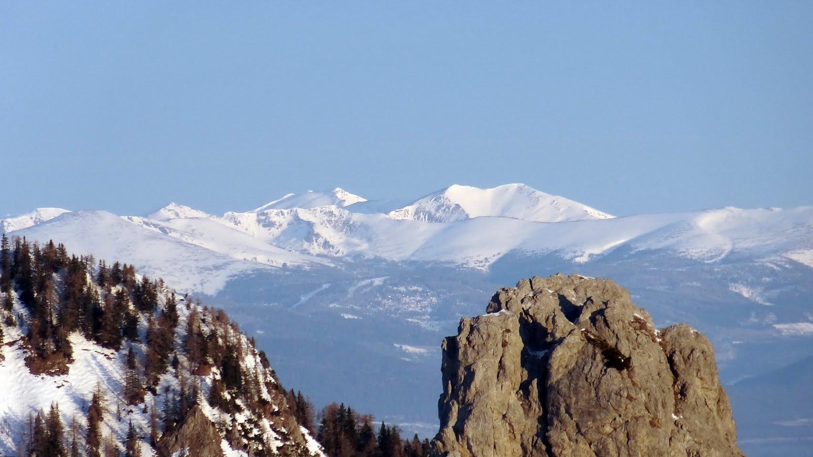 južne padine austrijskih brega, to bi možda bile Kaerntner Alpen...