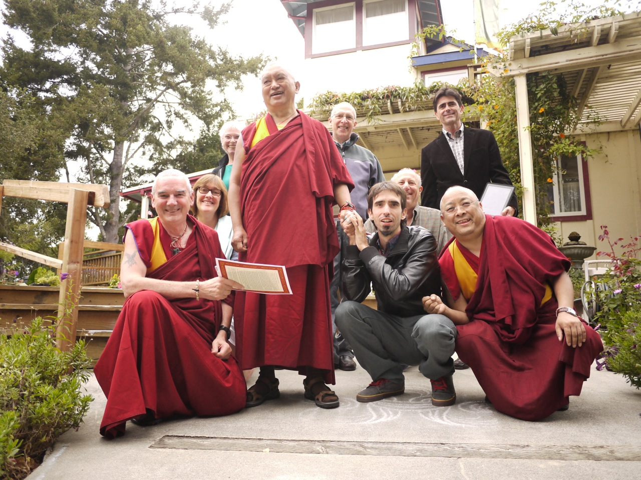 The FPMT Board of Directors in California Sep 2012
