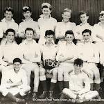 Crescent College Junior Cup Team 1955-56