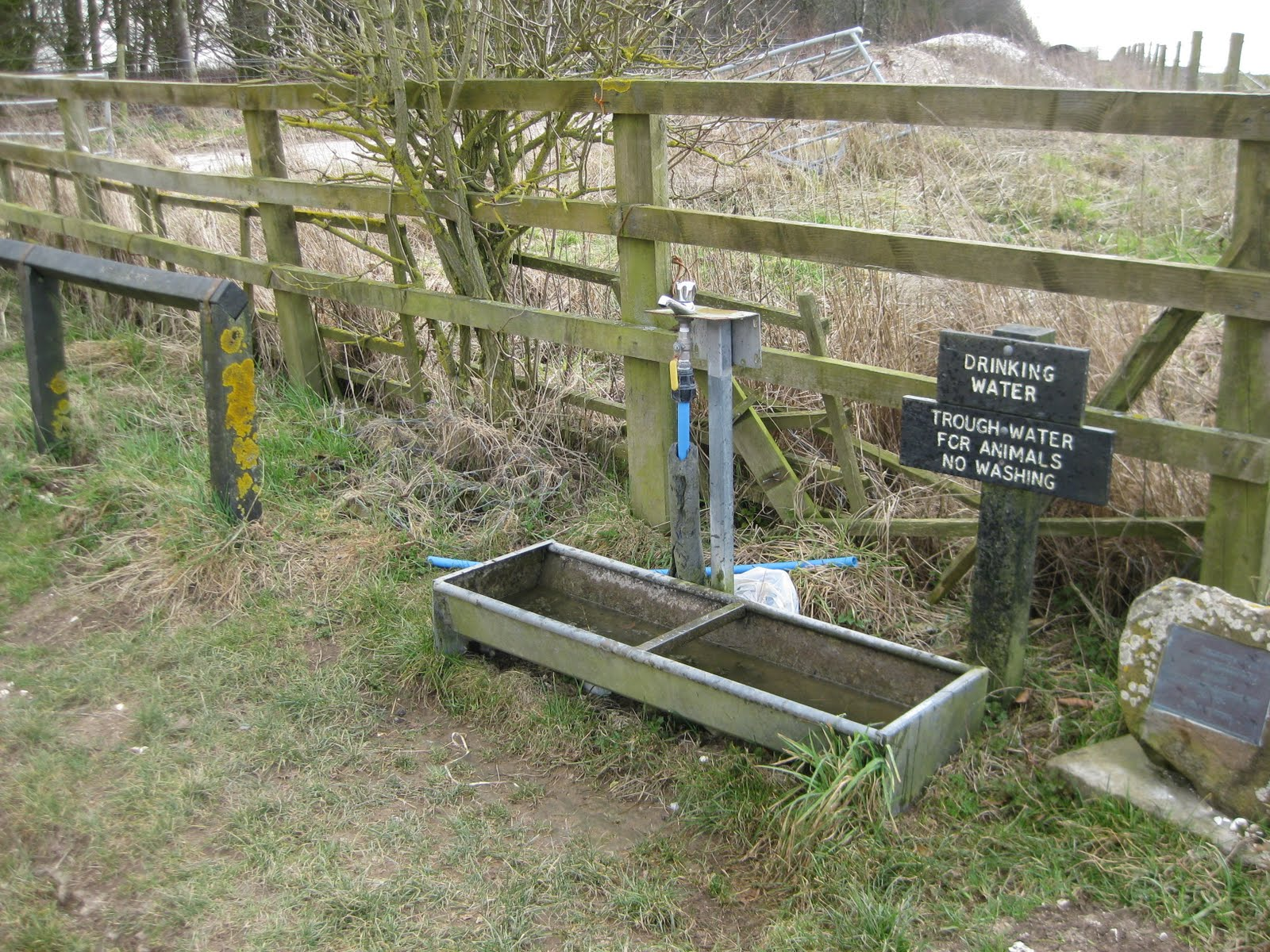 I like this place - drinking water provided along bridleways