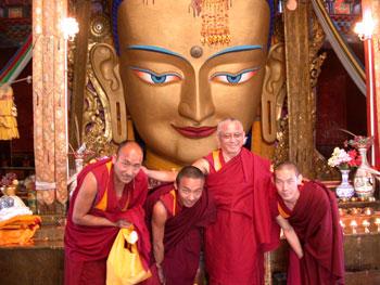 Lama Zopa with Maitreya