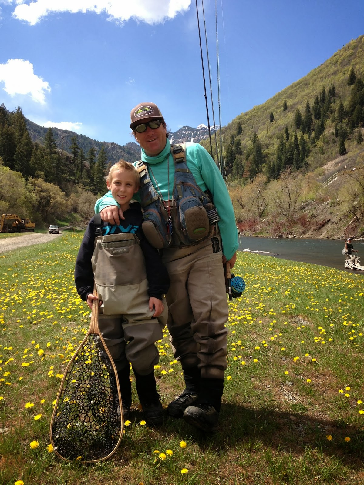 Jeremy & Riley Jones - Provo River