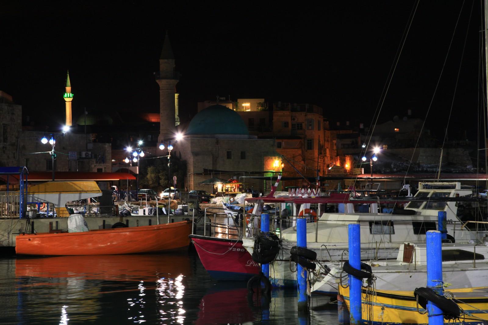 Akko harbour