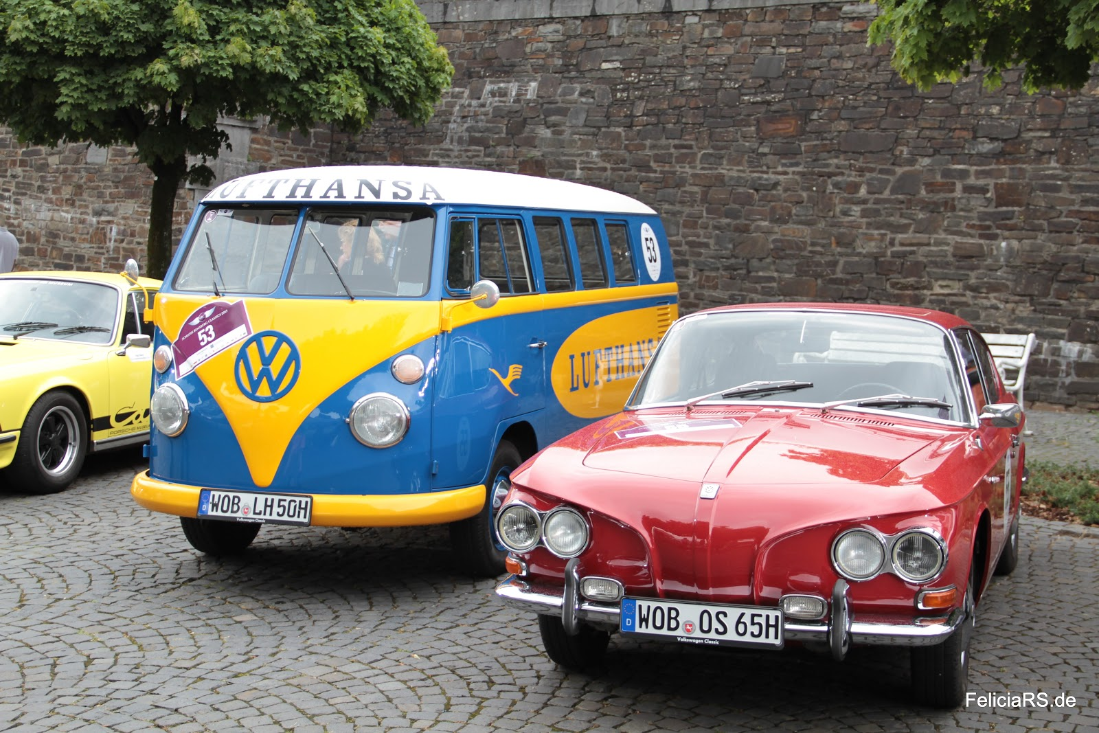 Volkswagen T1 Lufthansa, Karmann Ghia 1600 TL hatchback coupe ging nie in Serie.