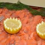 Yeux de saumon !